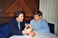 Marco Cappato intervistato da Paolo Radivo, giornalista di Antenna 3.