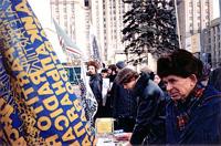 """Tavolo di raccolta firme all'appello: """"Cecenia: basta!"""""""