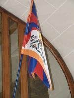 Bandiera del Tibet sul municipio di Calais.