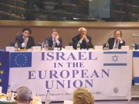 """Convegno: """"Israel in the European Union"""", promosso dal Partito Radicale, e dai deputati radicali al PE. Da sinistra: Yasha Reibman, Gianfranco Dell'Al"""