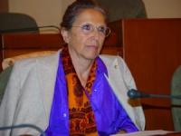 Claude Levenson, sinologa, partecipa all'assemblea costitutiva dell'associazione dei comuni italiani per il Tibet.