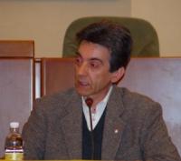 Claudio Tecchio, coordinatore del gruppo solidarietà con il Tibet, partecipa all'assemblea costitutiva dell'associazione dei comuni italiani per il Ti
