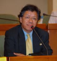 Champa Tender, rappresentante europeo della Tibet Humanity Organization, partecipa all'assemblea costitutiva dell'associazione dei comuni italiani per