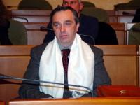 Alfredo Fava, membro del Falun Gong, partecipa all'assemblea costitutiva dell'associazione dei comuni italiani per il Tibet.