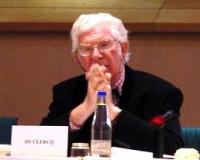 """Willy DE CLERQ, deputato al Parlamento Europeo, partecipa al  Convegno: """"Israel in the European Union"""", promosso dal Partito Radicale, e dai deputati"""