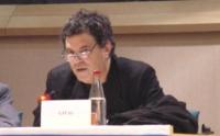 """Amos Gitai, regista cinematografico, partecipa al  Convegno: """"Israel in the European Union"""", promosso dal Partito Radicale, e dai deputati radicali al"""