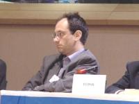 """Frédéric ENCEL, docente  di Politica Estera, all'Università  di Parigi e di Renna, partecipa al  Convegno: """"Israel in the European Union"""", promosso da"""