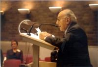 Conferenza di Amsterdam per il tribunale penale internazionale. Sergio Stanzani.