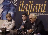 Conferenza stampa sul preannunciato sciopero della sete di Marco Pannella, per il conseguimento del plenum al Consiglio Superiore della Magistratura e