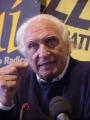 Marco Pannella, durante una conferenza stampa, al terzo giorno di sciopero della sete. Altre digitali.