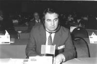ritratto di Gheorghe Roman (Romania) deputato (BN)