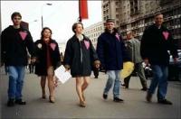 Manifestazione contro la proposta del deputato Gennadij Rajkov (leader del gruppo parlamentare Deputati Popolari), di ripristinare la persecuzione con