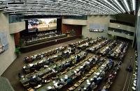 38° Congresso del PR. Foto dall'alto della sala.