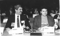 ritratto di Stepan Grigorjan (Armenia) deputato e Tigran Gjuregjan (Armenia) deputato (BN)