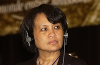 Vanida Thephsouvanh, presidente del Movimento Lao per i diritti umani (ospite del 38° Congresso del PR).