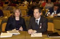 A destra: Carlo Fatuzzo (MEP - PPE, It), ospite del 38° Congresso del PR.