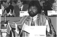 ritratto di Ciril Pillay (Sud Africa) deputato (BN)