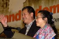 Wei Jingsheng alla tribuna del 38° Congresso del PR.