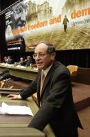 Jacob Levy, ambasciatore di Israele presso l'Onu a  Ginevra, ospite del 38° Congresso del PR.