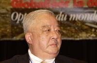 Sua altezza reale Suaryavong Savang, principe reggente del Laos, ospite del 38° Congresso del PR.