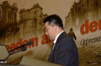 Sua altezza reale Soulivong Savang, principe ereditario del Laos, ospite del 38° Congresso del PR.