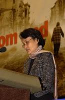 Vanida Thephsouvanh, presidente del Movimento Lao per i diritti umani, ospite del 38° Congresso del PR.