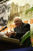 Marco Pannella, alla tribuna del 38° Congresso del PR.