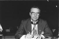 ritratto di Wladimir Moskovka (Ucraina) deputato (BN)