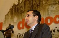 Benedetto Della Vedova, alla tribuna del 38° Congresso del PR.