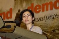 Silvja Manzi al 38° Congresso del PR.