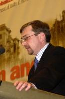 Nikolaj Khramov alla tribuna del 38° Congresso del PR.