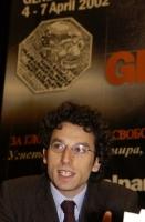 Yasha Reibman, consigliere regionale della Lombardia (Radicali Italiani), al 38° Congresso del PR.