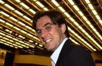 Mauro Suttora, giornalista radicale, al 38° Congresso del PR.