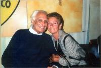 Marco Pannella e Luisa Giordano (militante radicale).