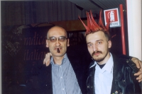 Antonio Grippo e Roberto Baietti, militanti radicali.