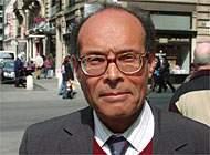 Moncef Marzouki, attivista per i diritti umani in Tunisia.