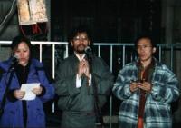 Manifestazione del TSG (gruppo di sostegno per l'autonomia del Tibet).