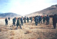 "During the forced relocations, the authorities have confiscated ethnic Mongolian herders' livestock and other property in the  pretext of ""recovering"