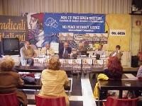 """Presentazione della rivista """"Diritto e libertà"""". Al tavolo: Odar Gabashvili (storico e giornalista, già viceministro degli Esteri per il governo Gansa"""