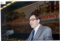 Bruno Mellano, alla tribuna del 38° Congresso  del PR.
