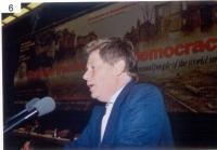 Gianfranco Dell'Alba, al 38° Congresso del PR.