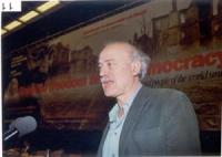 Sergio D'Elia, alla tribuna del 38° Congresso del PR.