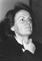 ritratto di Liliana Cavani (regista)  (BN)