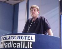 Alessandro Caforio interviene al Primo Congresso dei Radicali Italiani.