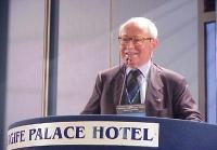 Antonio Del Pennino interviene al Primo Congresso dei Radicali Italiani.