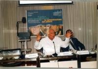 """Marco Pannella interviene al convegno: """"Il potere della comunicazione. La comunicazione del potere""""."""