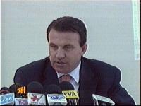Il ministro albanese dell'Economia Arben Malaj.