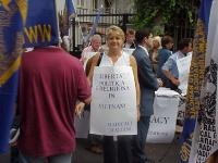 Giornata mondiale gandhiana-nonviolenta per la democrazia e la libertà anche in Vietnam. Rita Bernardini, nel corso della manifestazione-conferenza st