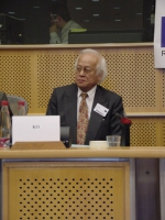 "Conferenza al Parlamento Europeo: ""South-East Asia Democracy Denied Freedoms Suppresses. The situation in Burma, Laos and Vietnam "". Aung Ko, Represen"