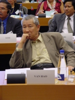 "Conferenza al Parlamento Europeo: ""South-East Asia Democracy Denied Freedoms Suppresses. The situation in Burma, Laos and Vietnam "". Le Van Hao, Ethno"